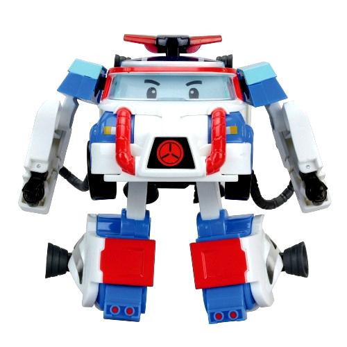 Трансформер Поли из серии «Робокар Поли», 10 см. и костюм астронавта - Robocar Poli. Робокар Поли и его друзья, артикул: 135875