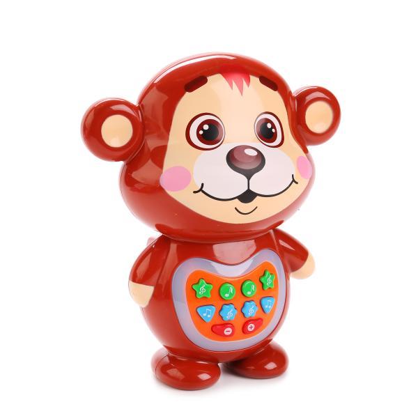 Медвежонок-Сказочник, свет и звук - Интерактив для малышей, артикул: 165217