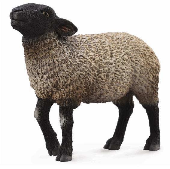 Фигурка Gulliver Collecta - Овца СуффолкНа ферме (Farm life)<br>Фигурка Gulliver Collecta - Овца Суффолк<br>