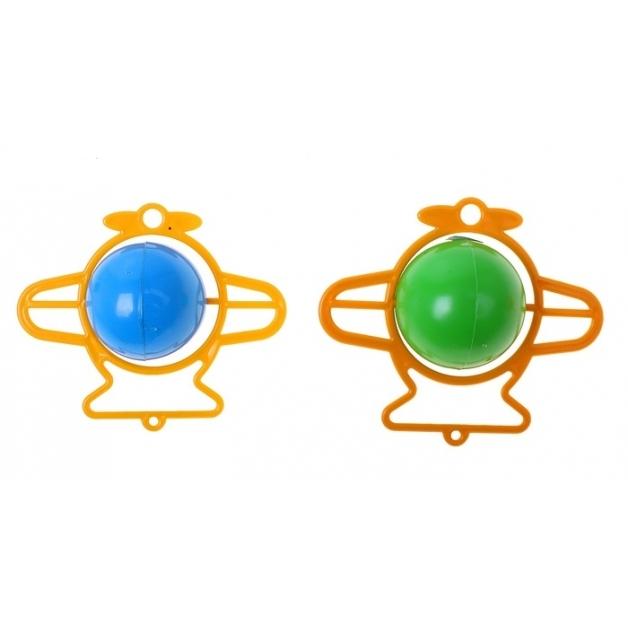 Погремушка СамолетикДетские погремушки и подвесные игрушки на кроватку<br>Погремушка Самолетик<br>