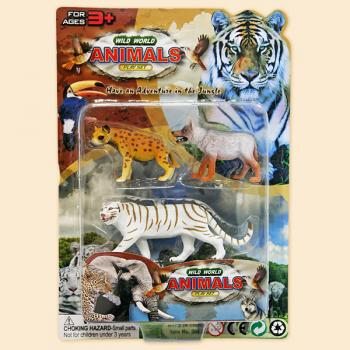 Набор Дикие животные, 3 фигуркиДикая природа (Wildlife)<br>Набор Дикие животные, 3 фигурки<br>