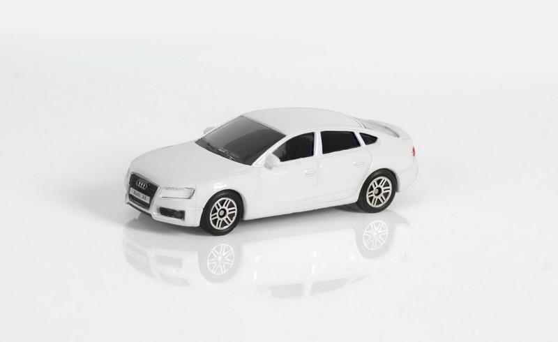 Купить Металлическая машина - Audi A5, 1:64, белый, RMZ City