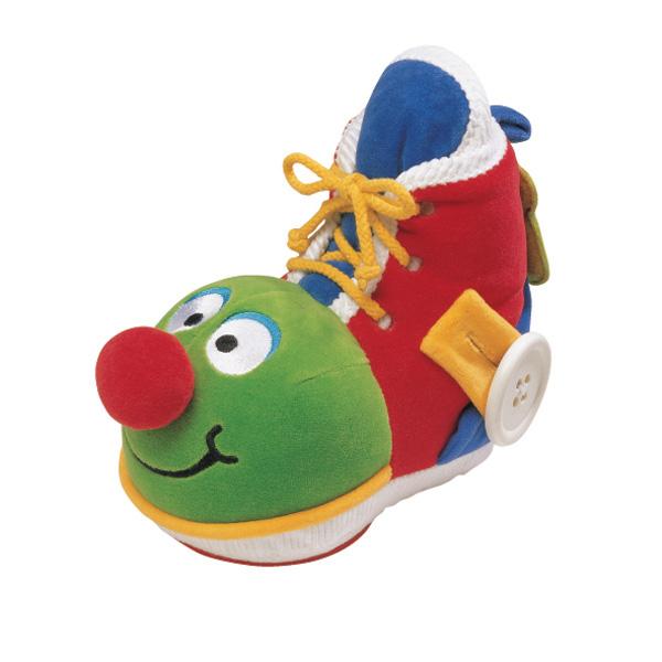 Развивающий ботинок с зеркаломРазвивающие игрушки K-Magic от KS Kids<br>Развивающий ботинок с зеркалом<br>