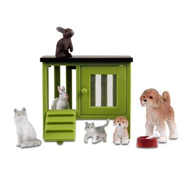 Набор для кукольного домика Стокгольм - Домашние животные