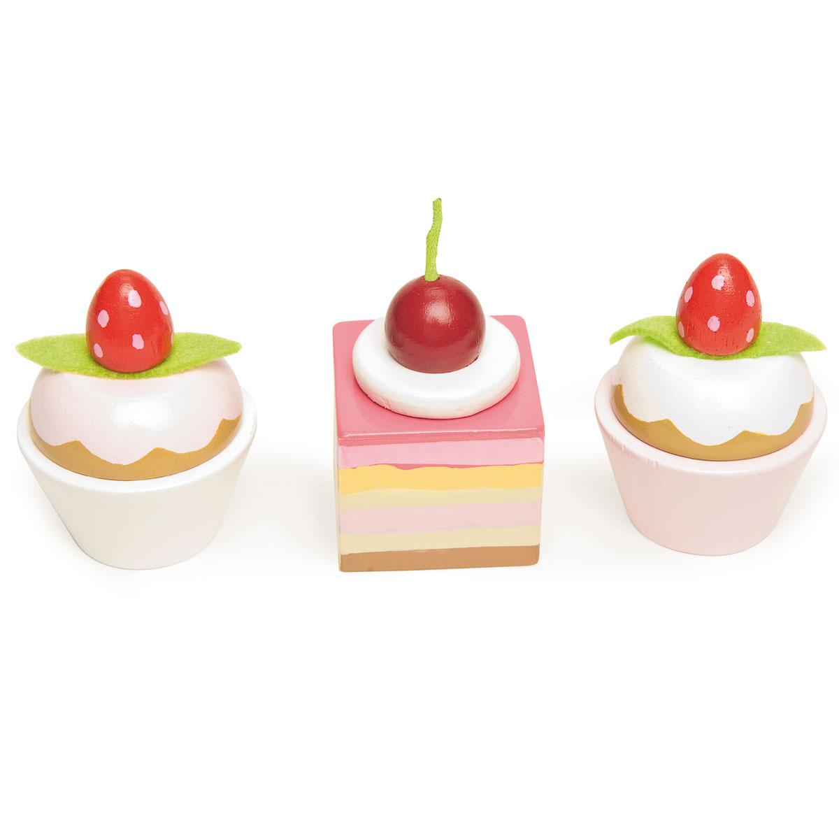 Еда игрушечная - Набор пирожных