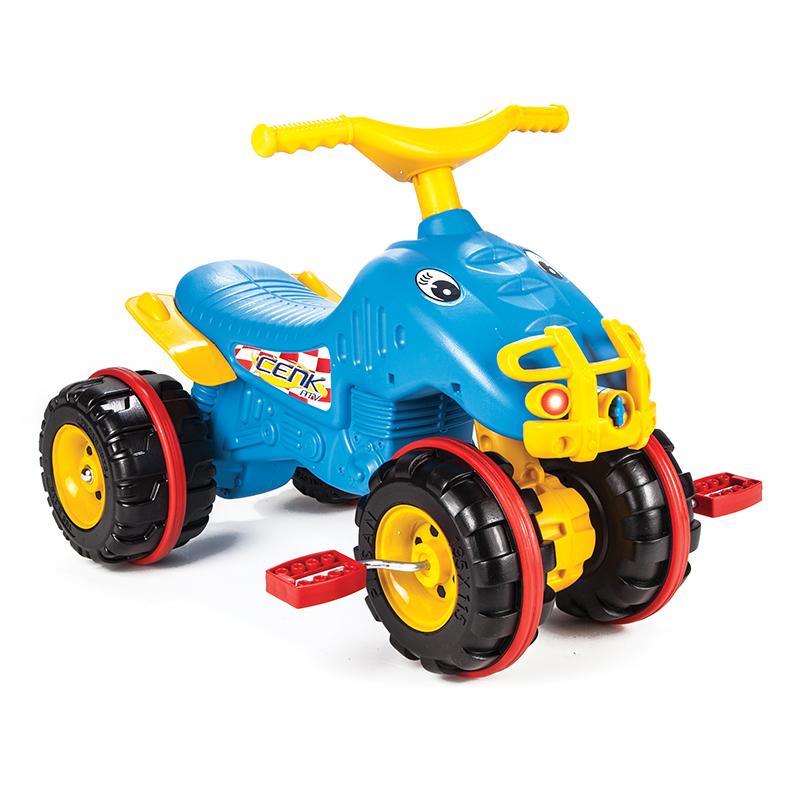 Педальная машина  Квадроцикл Cenk Atv - Педальные машины и трактора, артикул: 160619
