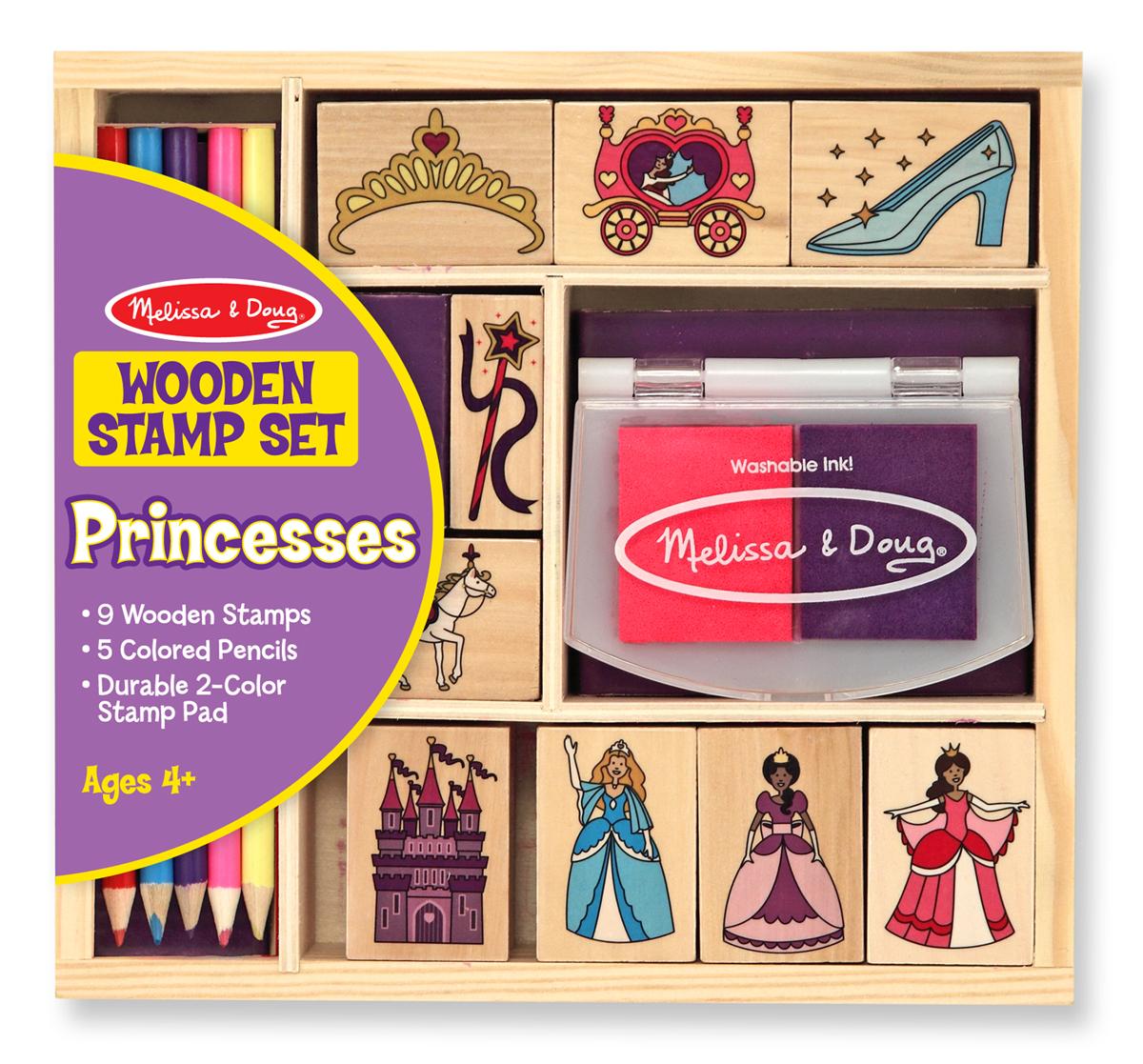 Набор печатей Принцессы из серии ТворчествоШтампики<br>Набор печатей Принцессы из серии Творчество<br>