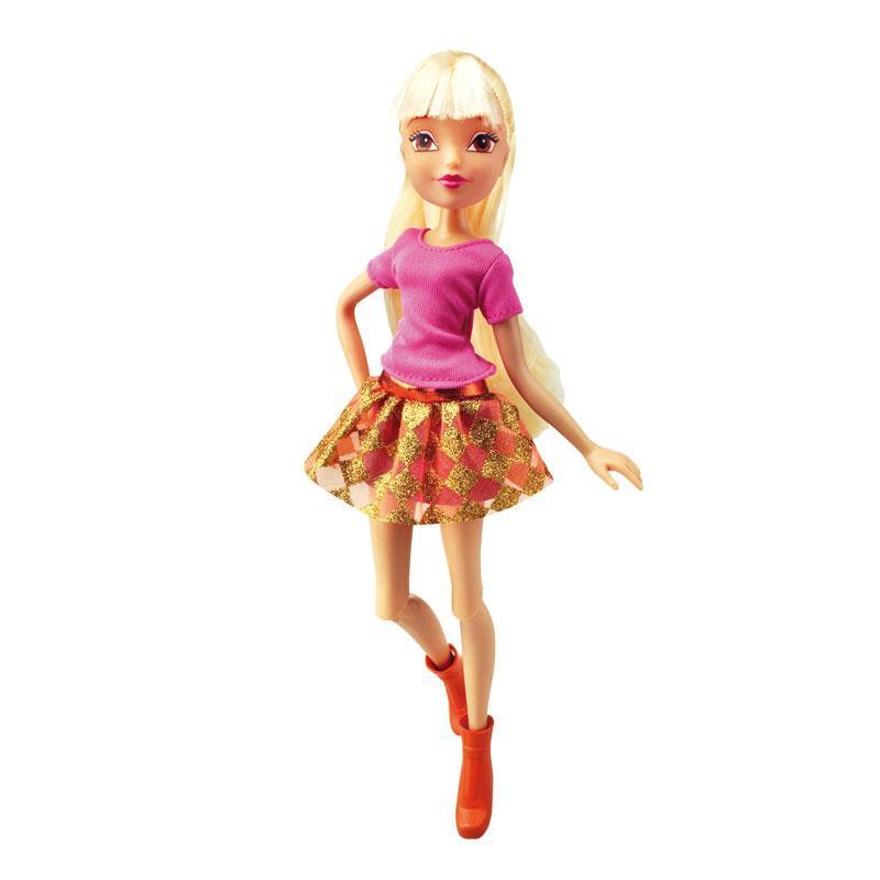 Кукла из серии Winx Club - Городская магия StellaКуклы Винкс (Winx)<br>Кукла из серии Winx Club - Городская магия Stella<br>