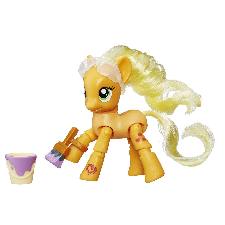 Фигурка из серии My Little Pony Explore Equestria  Рисующая Эпплджек, 8 см. - Моя маленькая пони (My Little Pony), артикул: 154628