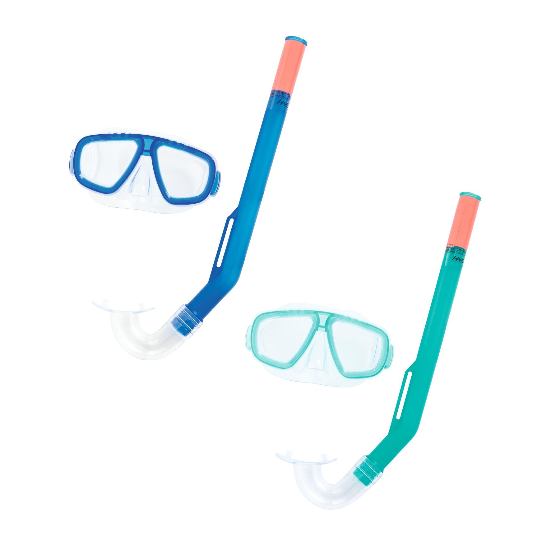 Набор для ныряния – Развлечение, маска, трубка, 2 цвета
