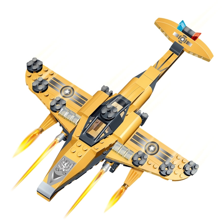 Конструктор Военный самолётСамолеты, службы спасени<br>Конструктор Военный самолёт<br>
