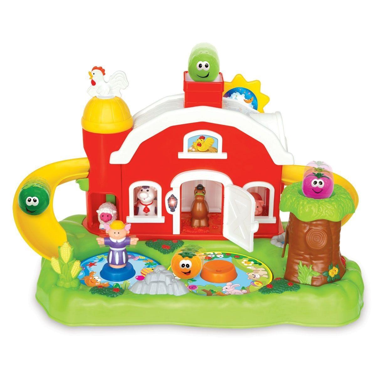Развивающая игрушка Фермерский дворикРазвивающие игрушки KIDDIELAND<br>Развивающая игрушка Фермерский дворик<br>