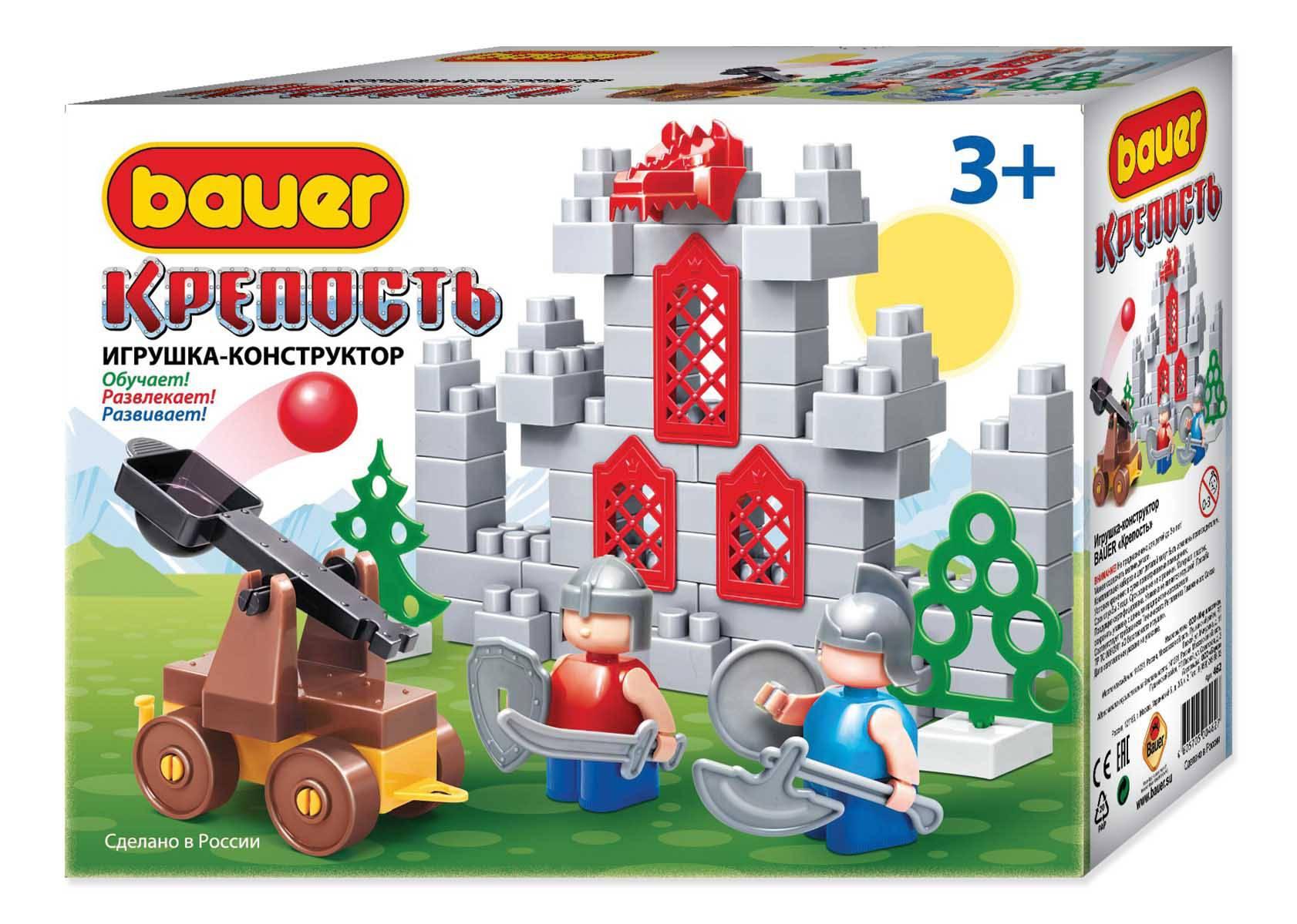 Конструктор серия Крепость – Катапульта, в коробке