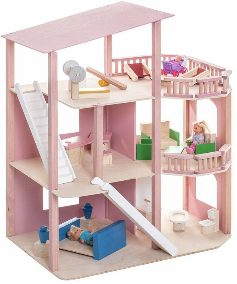Кукольный домик - Коралловый риф, с мебелью 21 предметКукольные домики<br>Кукольный домик - Коралловый риф, с мебелью 21 предмет<br>