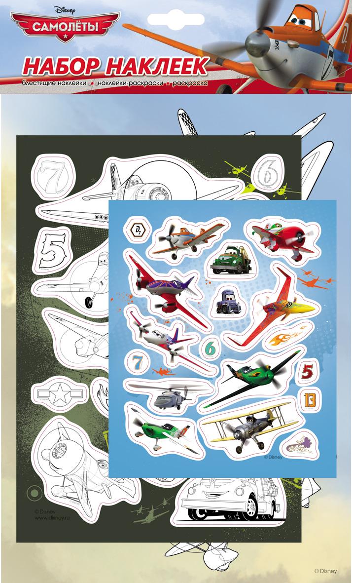 Набор наклеек – Самолеты 1, DisneyНаклейки<br>Набор наклеек – Самолеты 1, Disney<br>
