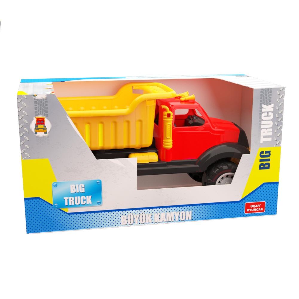 Самосвал большой игрушка 70 см в коробке