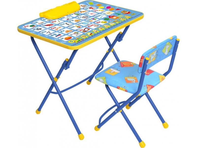 Комплект – Никки – Азбука, цвет синийПарты<br>Комплект – Никки – Азбука, цвет синий<br>