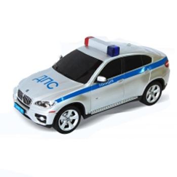 Радиоуправляемая полицейская машинка, масштаб 1:24, BMW X6Машины на р/у<br>Радиоуправляемая полицейская машинка, масштаб 1:24, BMW X6<br>