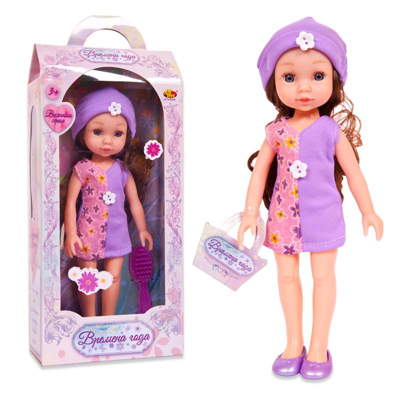 Кукла Времена года, 25 см, 3 видаПупсы<br>Кукла Времена года, 25 см, 3 вида<br>