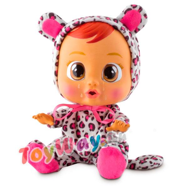 Купить Кукла Cry Babies - Тигренок Лея, плачет, озвучена, 31 см, IMC toys