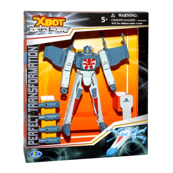 Робот-машина X-Bot - Robotics Program, 23 смИгрушки трансформеры<br>Робот-машина X-Bot - Robotics Program, 23 см<br>