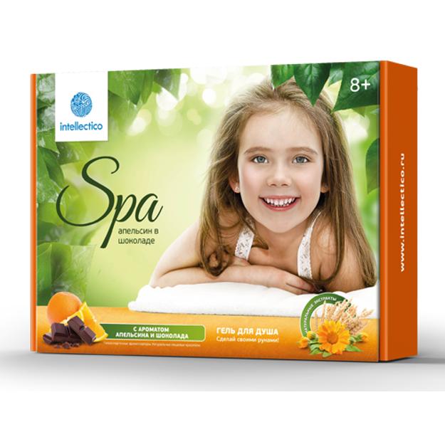 Купить Набор «Сделай своими руками» - Гель для душа «Апельсин в шоколаде», с ароматом апельсина и шоколада, Intellectico
