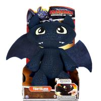 Большой плюшевый дракон Беззубик со звуком