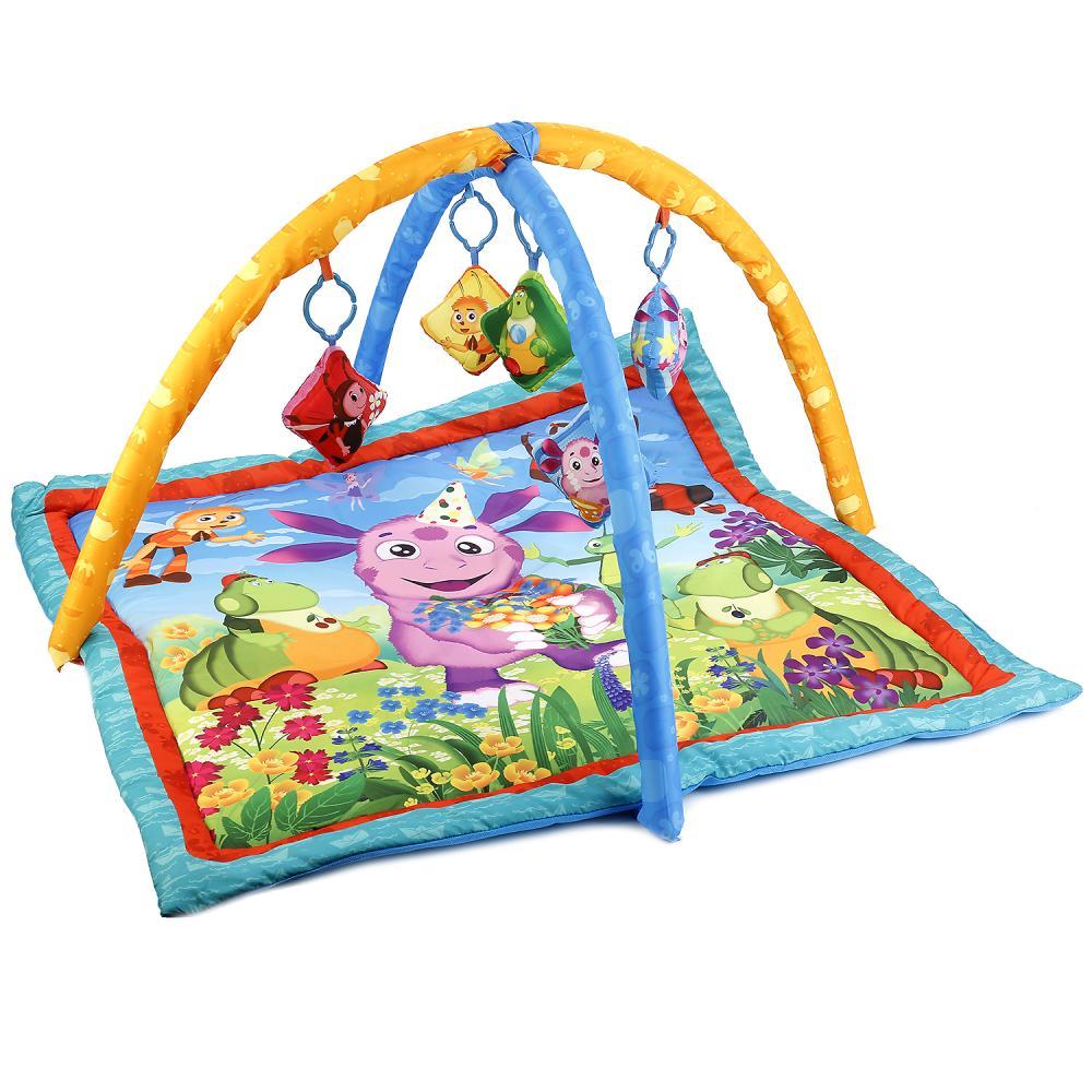 Купить Коврик детский - Лунтик, с мягкими игрушками на подвеске, Умка