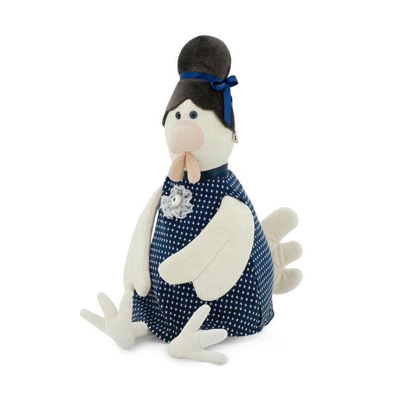 Мягкая игрушка - Курочка Зинаида Петровна, 35 смЖивотные<br>Мягкая игрушка - Курочка Зинаида Петровна, 35 см<br>