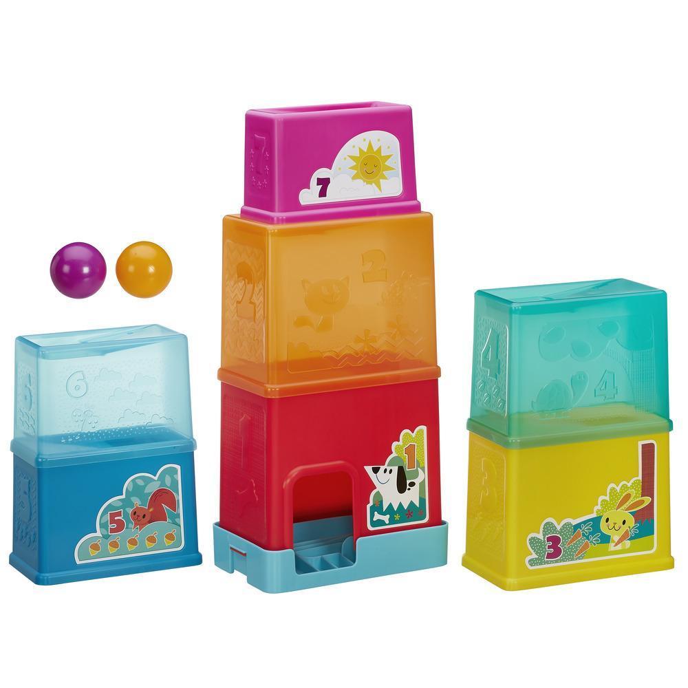Playskool Hasbro. Складная башняРазвивающие игрушки PLAYSKOOL (Hasbro)<br>Playskool Hasbro. Складная башня<br>