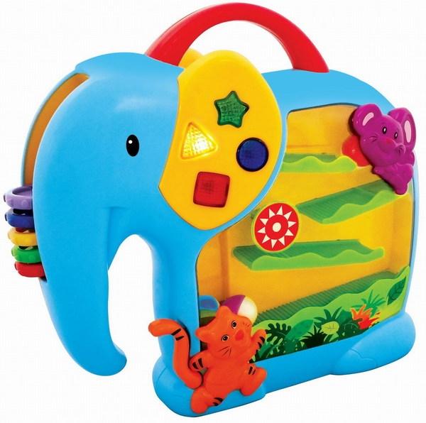 Развивающая игрушка - Занимательный слонРазвивающие игрушки KIDDIELAND<br>Развивающая игрушка - Занимательный слон<br>