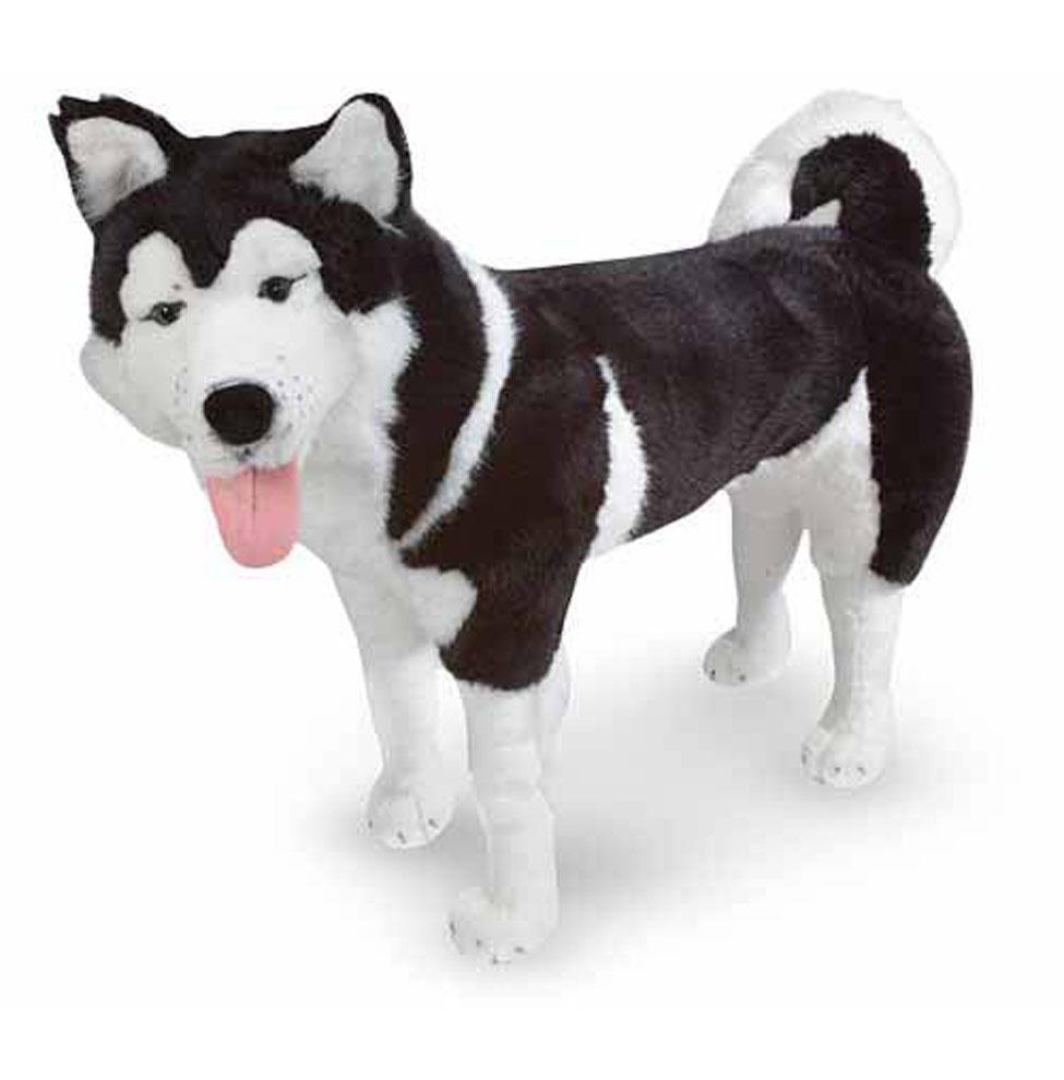 Мягкая игрушка  Хаски - Собаки, артикул: 156915