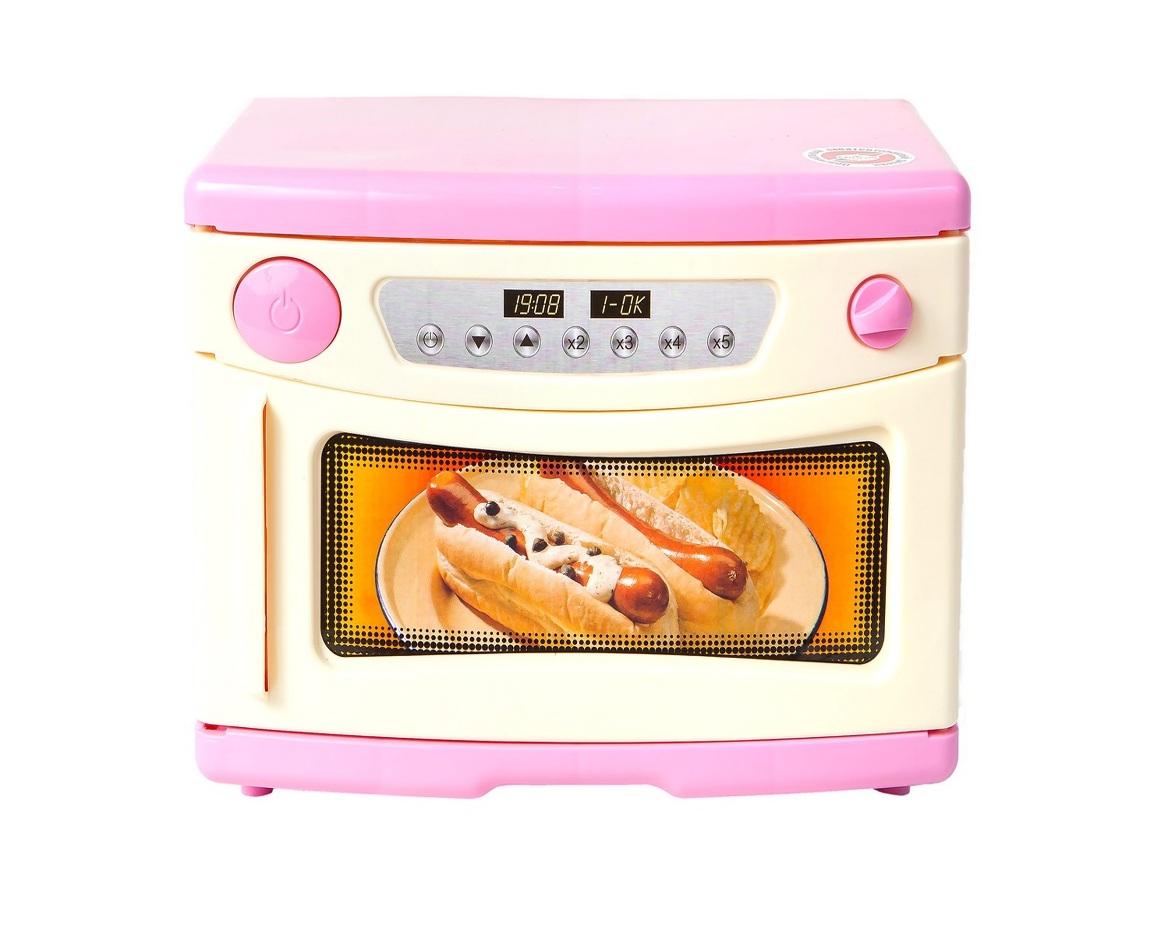 Микроволновая печь розового цвета. Морской бризАксессуары и техника для детской кухни<br>Микроволновая печь розового цвета. Морской бриз<br>