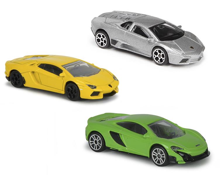 Машинка Lamborghini, 7,5 см., 3 видаLamborghini<br>Машинка Lamborghini, 7,5 см., 3 вида<br>