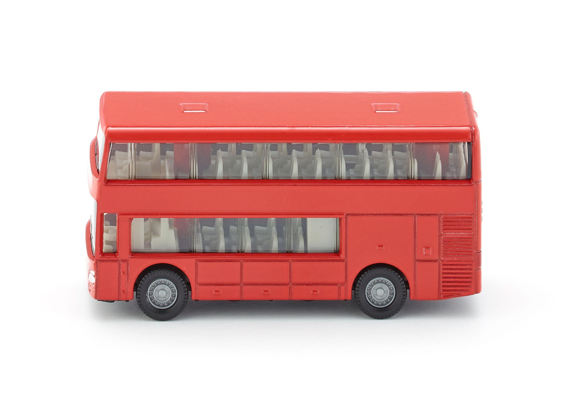 Купить Металлическая модель - Двухэтажный автобус, Siku