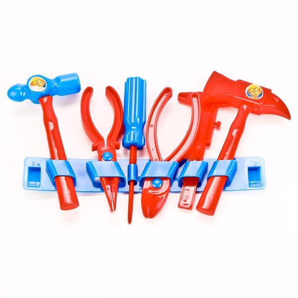 Набор строительных инструментов, 6 предметовДетские мастерские, инструменты<br>Набор строительных инструментов, 6 предметов<br>