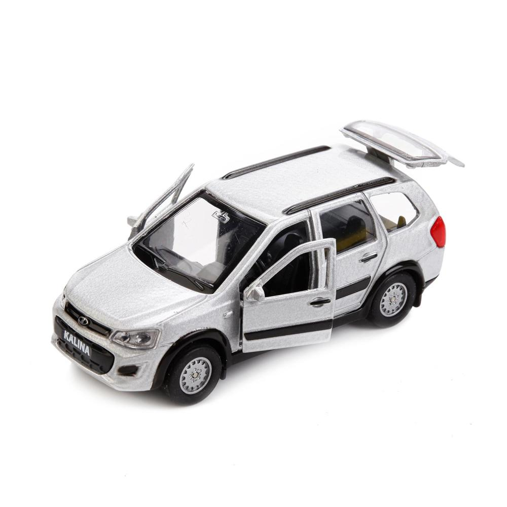 Купить Машина металлическая инерционная - Lada Kalina Cross, 12 см, Технопарк