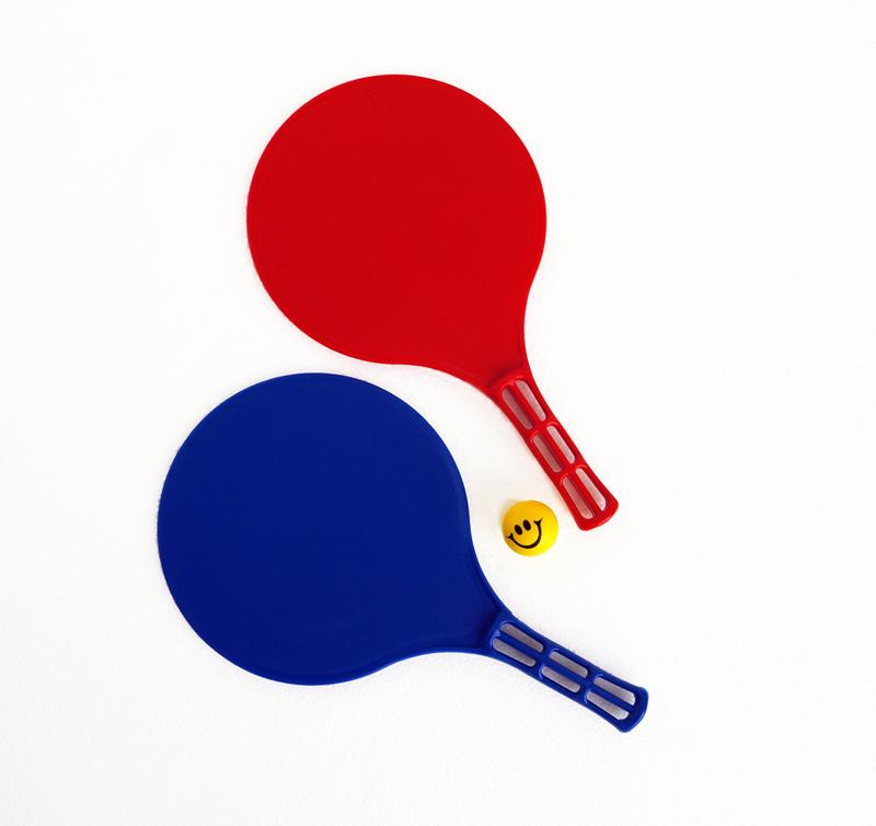 Пляжный набор теннисных ракеток с мячикомБаскетбол, бадминтон, теннис<br>Пляжный набор теннисных ракеток с мячиком<br>