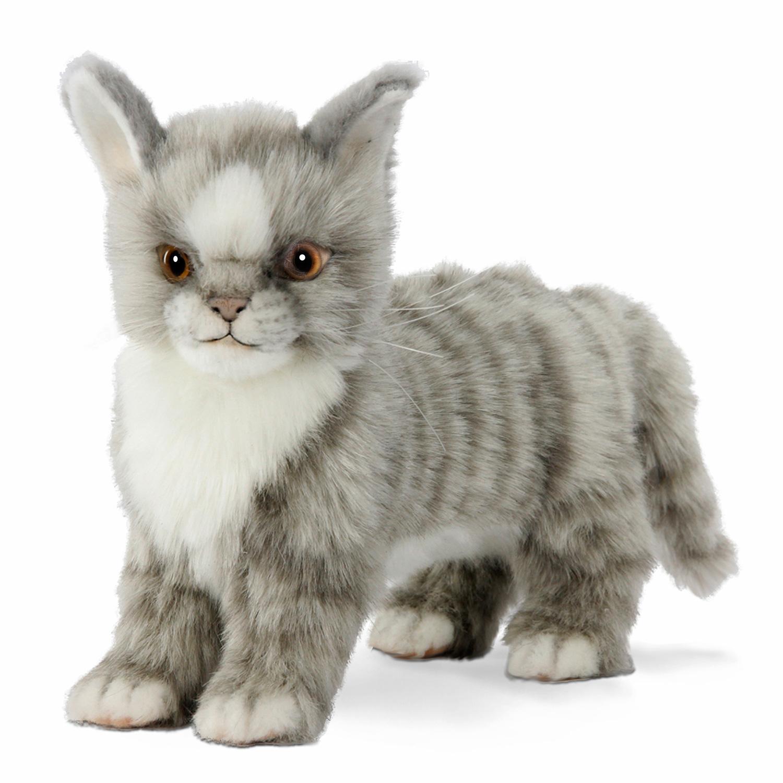 Купить Мягкая игрушка – Котенок стоящий, 22 см, Hansa