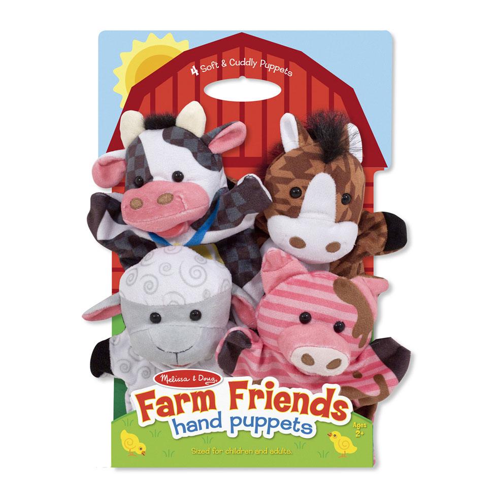 Плюшевые куклы на руку  ферма - Детский кукольный театр , артикул: 156942