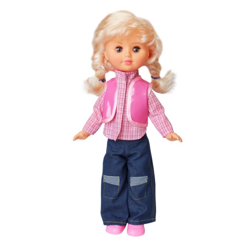 Озвученная кукла – Наташа, 10 фраз, 47 см Пластмастер