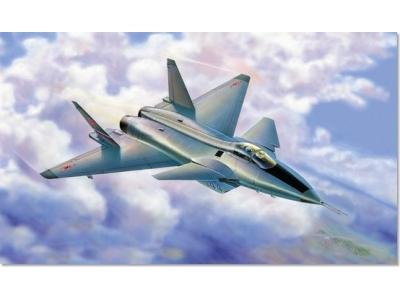 Модель для склеивания - Самолёт Миг-1.44Модели самолетов для склеивания<br>Модель для склеивания - Самолёт Миг-1.44<br>