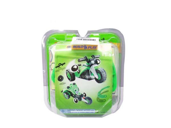 Конструктор – Собери мотоцикл, 40 деталейКонструкторы других производителей<br>Конструктор – Собери мотоцикл, 40 деталей<br>