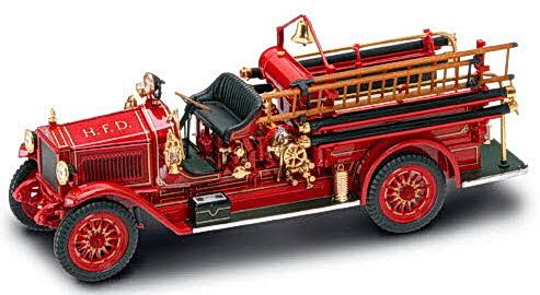 Коллекционный автомобиль - пожарная машина Мэксим C-1 образца 1923 г., масштаб 1:24Пожарная техника, машины<br>Коллекционный автомобиль - пожарная машина Мэксим C-1 образца 1923 г., масштаб 1:24<br>