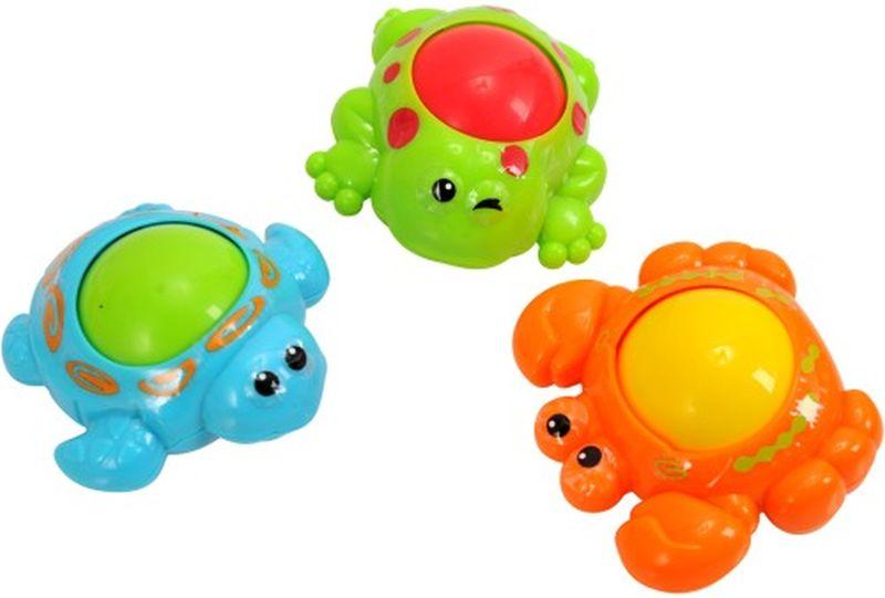 Катающиеся игрушки - Морские обитателиРазвивающие игрушки PlayGo<br>Катающиеся игрушки - Морские обитатели<br>