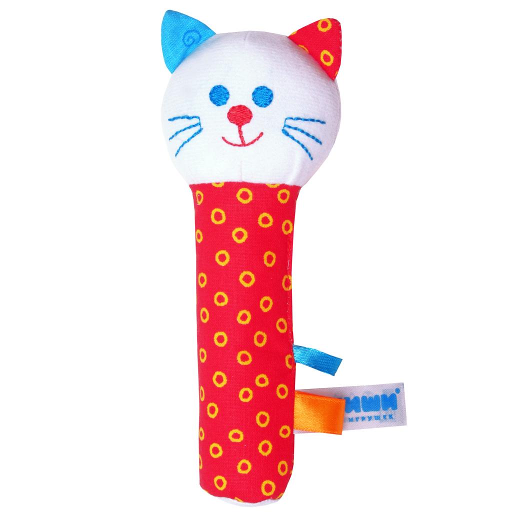 Игрушка «Котик» из серии ШумякишиДетские погремушки и подвесные игрушки на кроватку<br>Игрушка «Котик» из серии Шумякиши<br>
