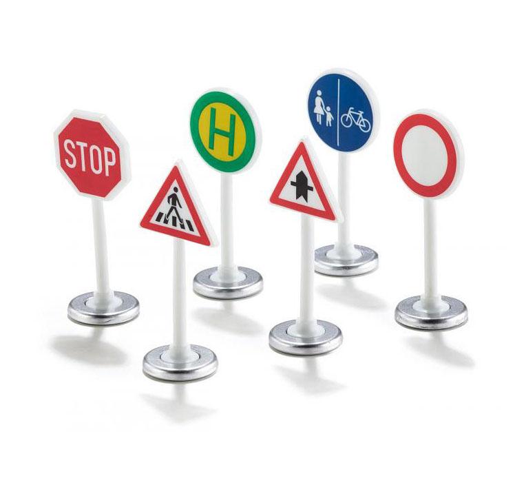 Купить Набор дорожных знаков, 6 штук, Siku