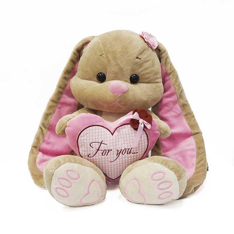 Зайка Лин, с сердцем - Зайцы и кролики, артикул: 162118
