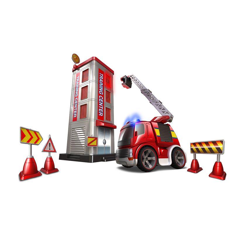 Набор на р/у - Потуши горящее зданиеПожарная техника, машины<br>Набор на р/у - Потуши горящее здание<br>