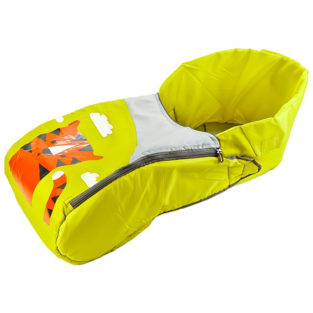 Сиденье с чехлом для ног, дизайн - тигр лимонный